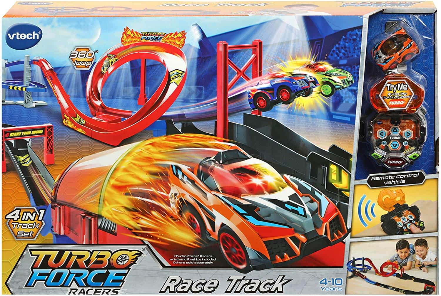 Circuito de carreras Turbo Force Racers