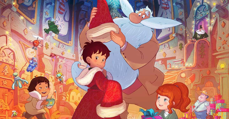 El aprendiz de Papa Noel y el copo de nieve magico
